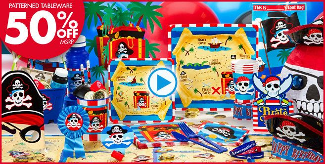 Pirate Party Supplies Pirate Birthday Party City Cams 4th
