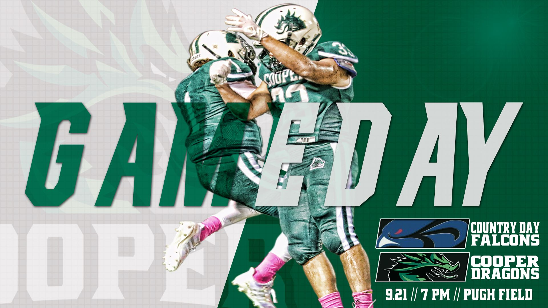 Football Gameday Graphic