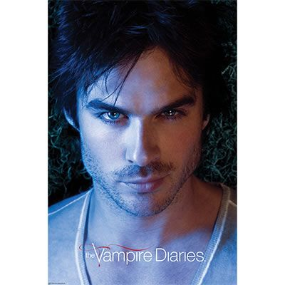 And my favorite person on The Vampire Diaries? Yeah, that would be Damon :)
