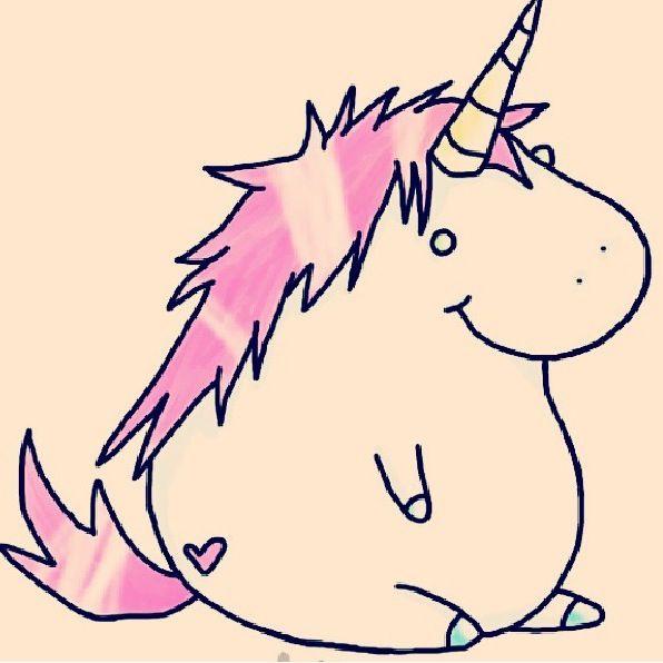 cute chubby unicorn for - photo #15