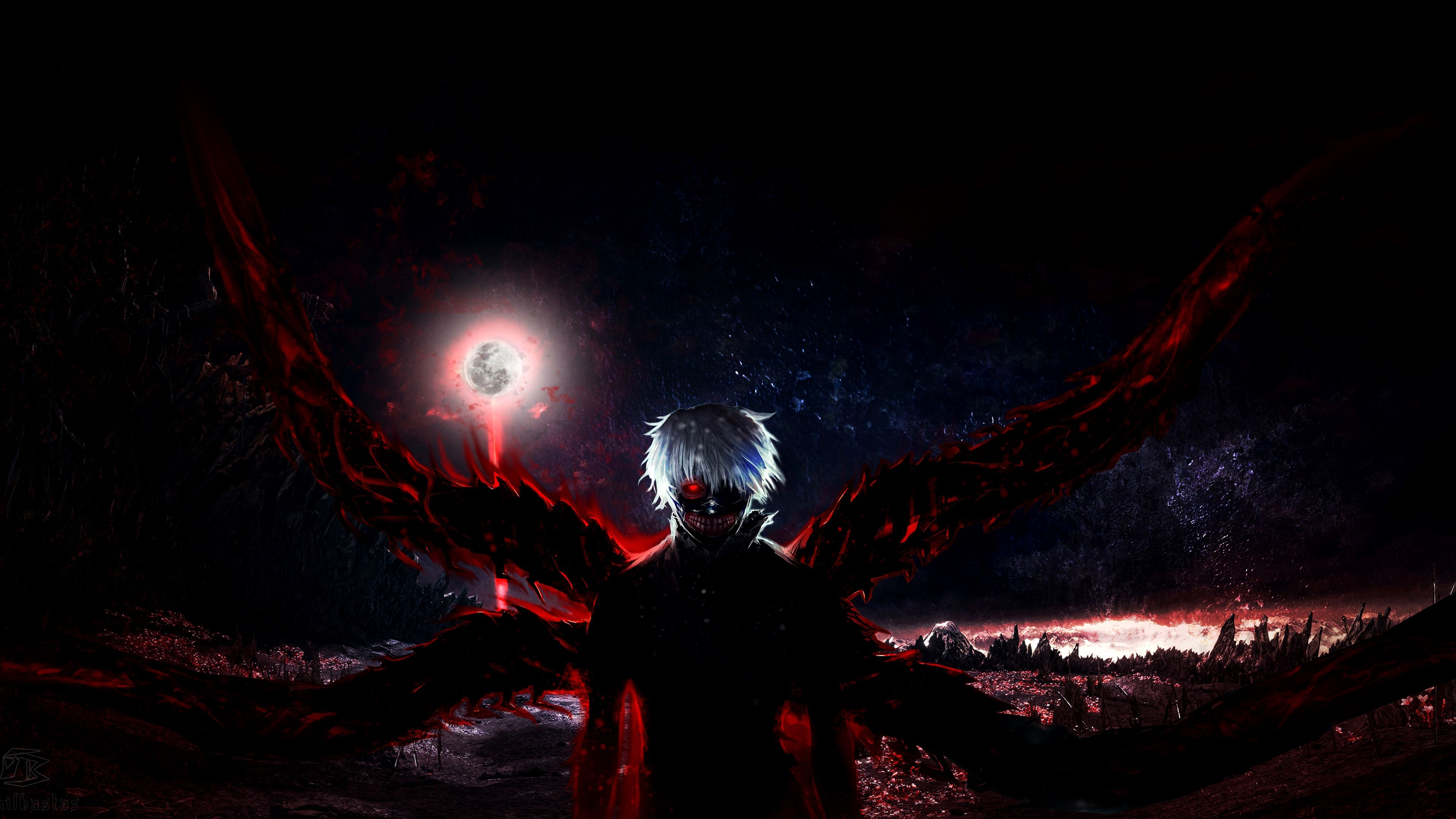Tokyo Ghoul Wallpaper 4K Iphone Ideas Check more at https