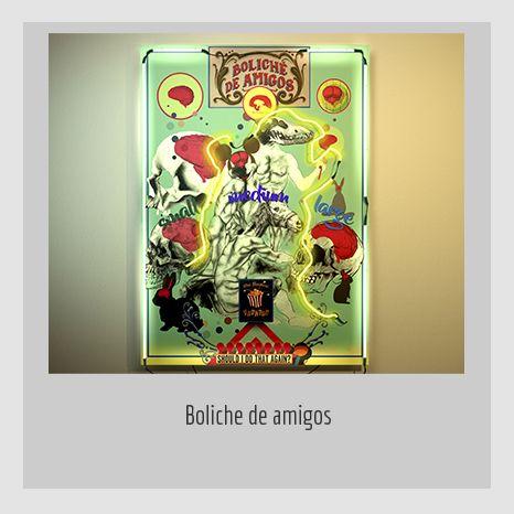 BOLICHE DE AMIGOS.  YENY CASANUEVA Y ALEJANDRO GONZÁLEZ. PROYECTO PROCESUAL ART.