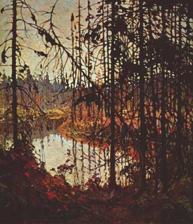 Tom Thomson from Canada.  How did he do this?!