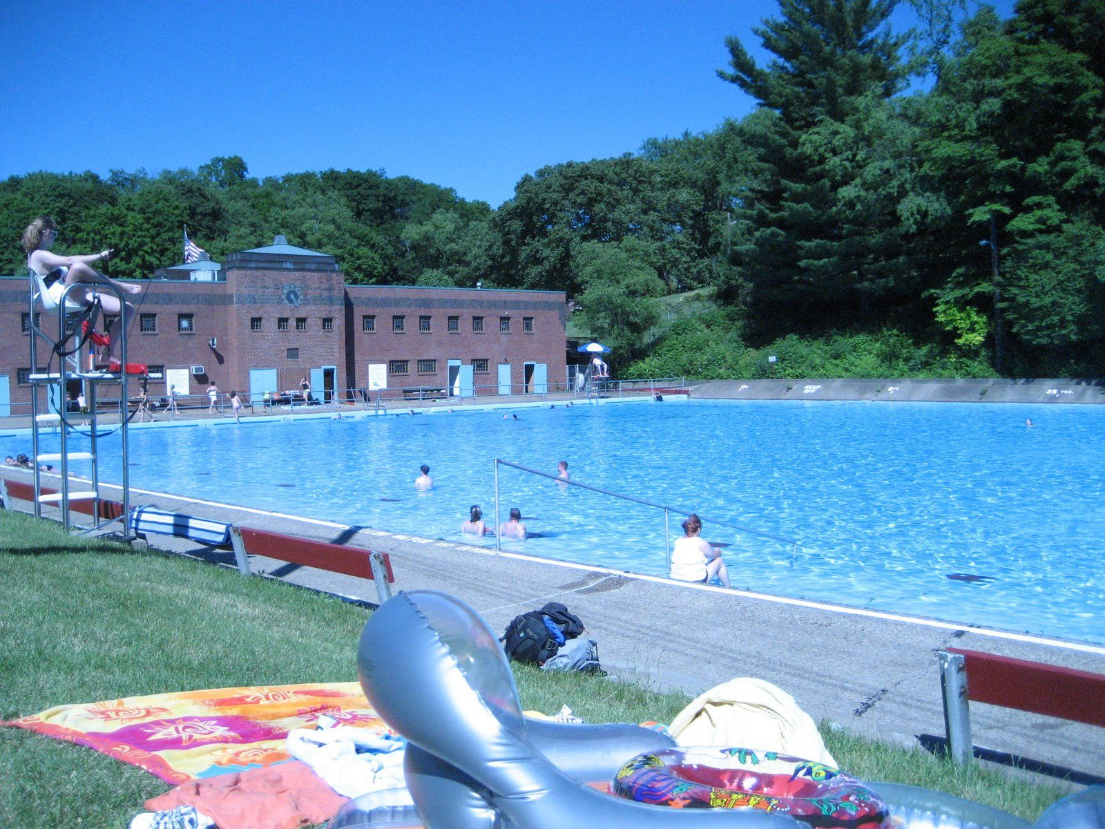 I had my first swimming lessons here dormont pool - Pools on the park swimming lessons ...