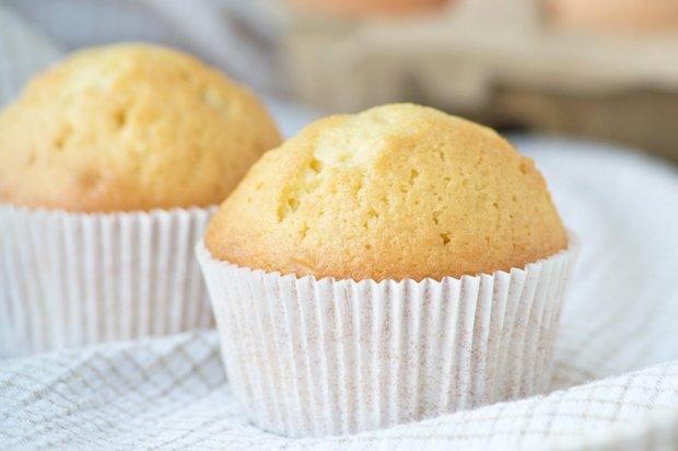Saftige Muffins mit Öl - Rezept