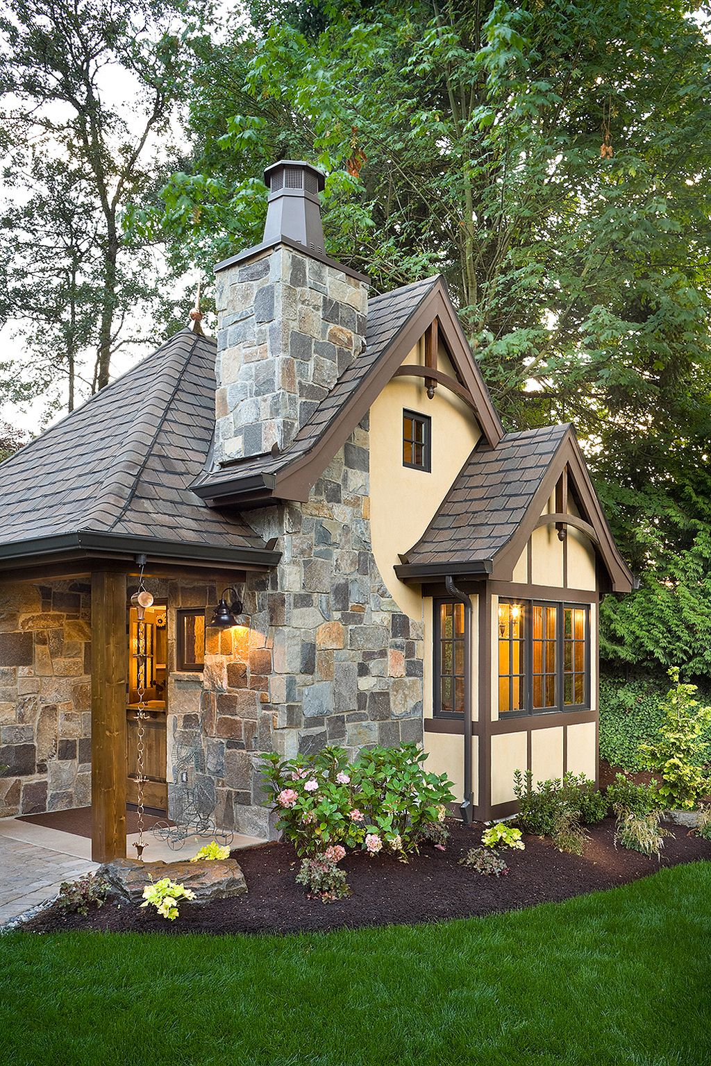 300 Square Foot House Plans Google Search Cottage Exterior Tudor Style Homes House Exterior