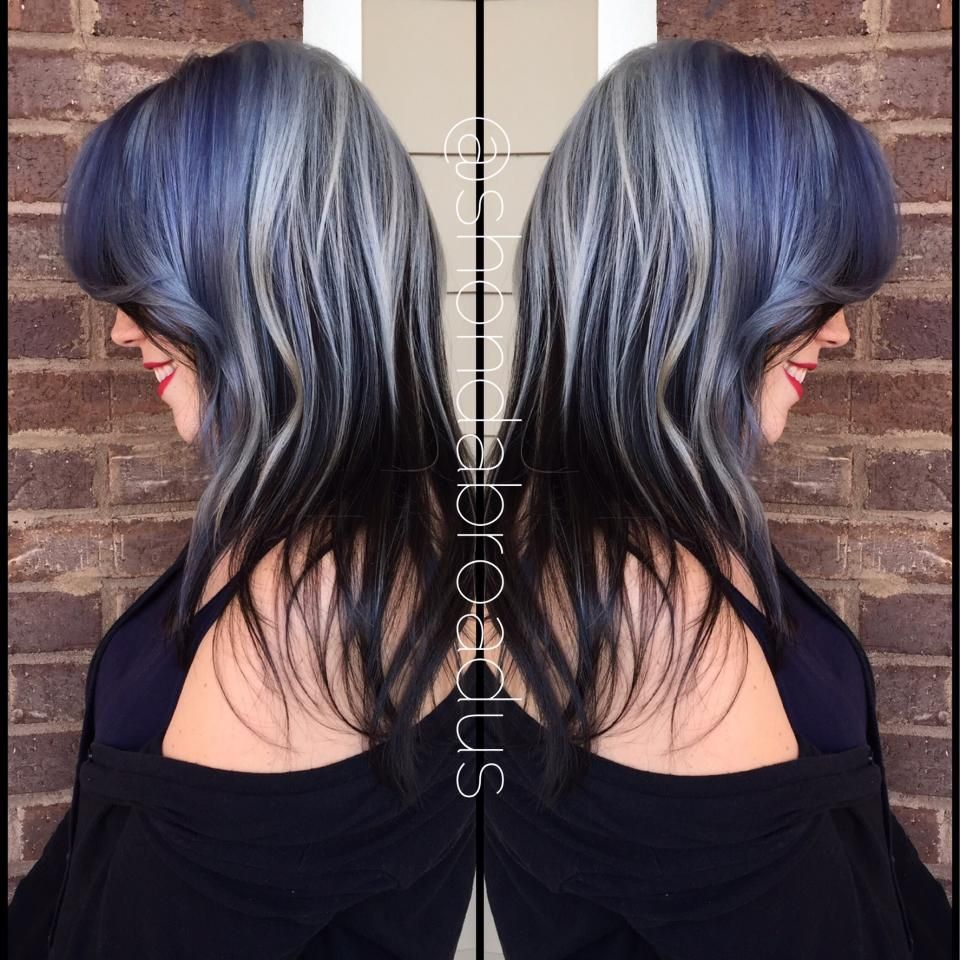 How to ice princess featuring shades of blue and silver how to ice princess featuring shades of blue and silver highlights hair color pmusecretfo Gallery