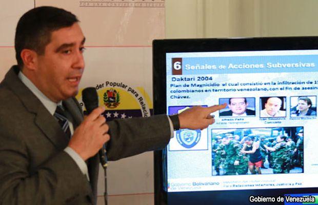 Gobierno venezolano acusa a Estados Unidos de conspiración