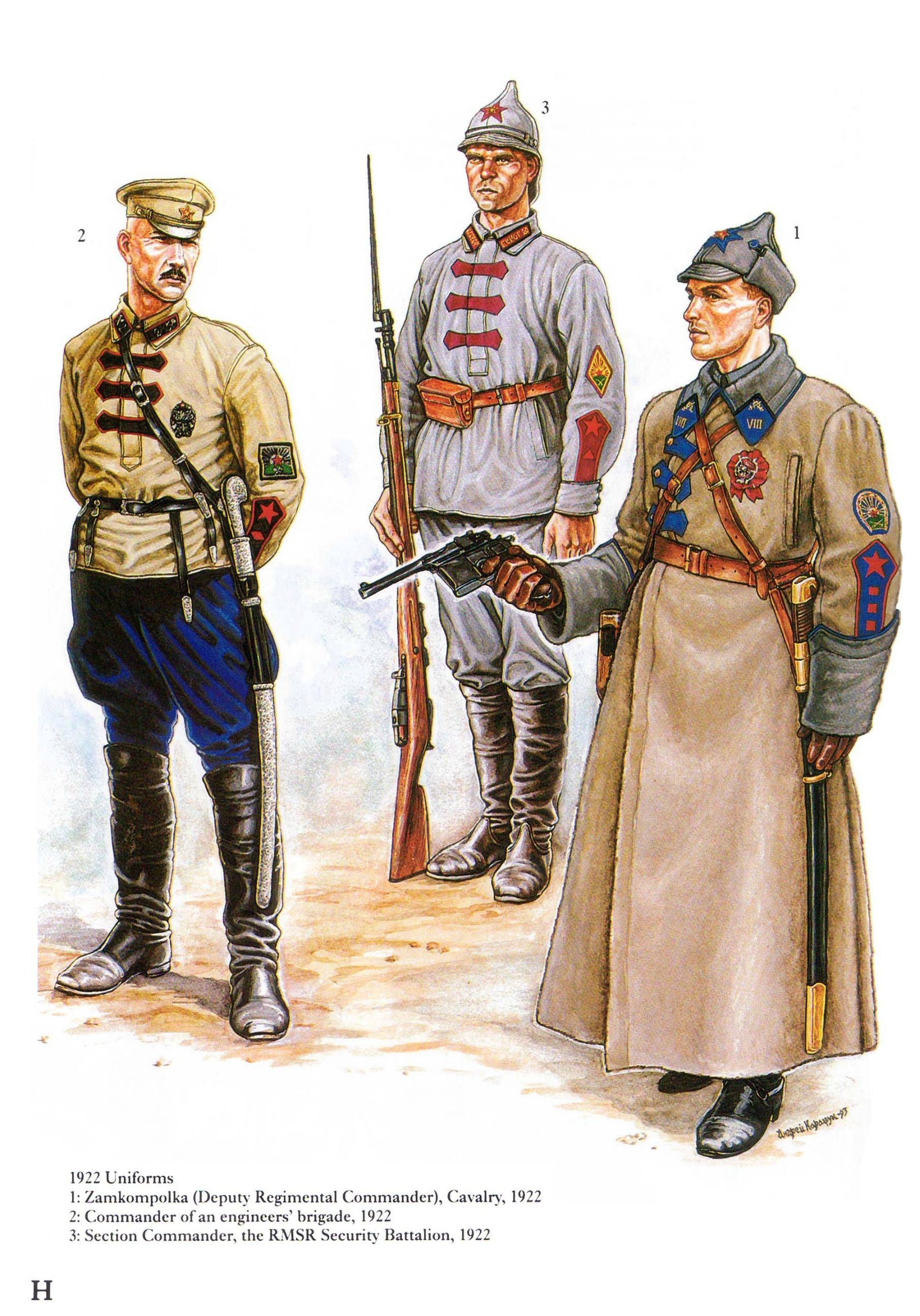 1922 uniforms | Russian civil war - red army | Pinterest | Civil ...