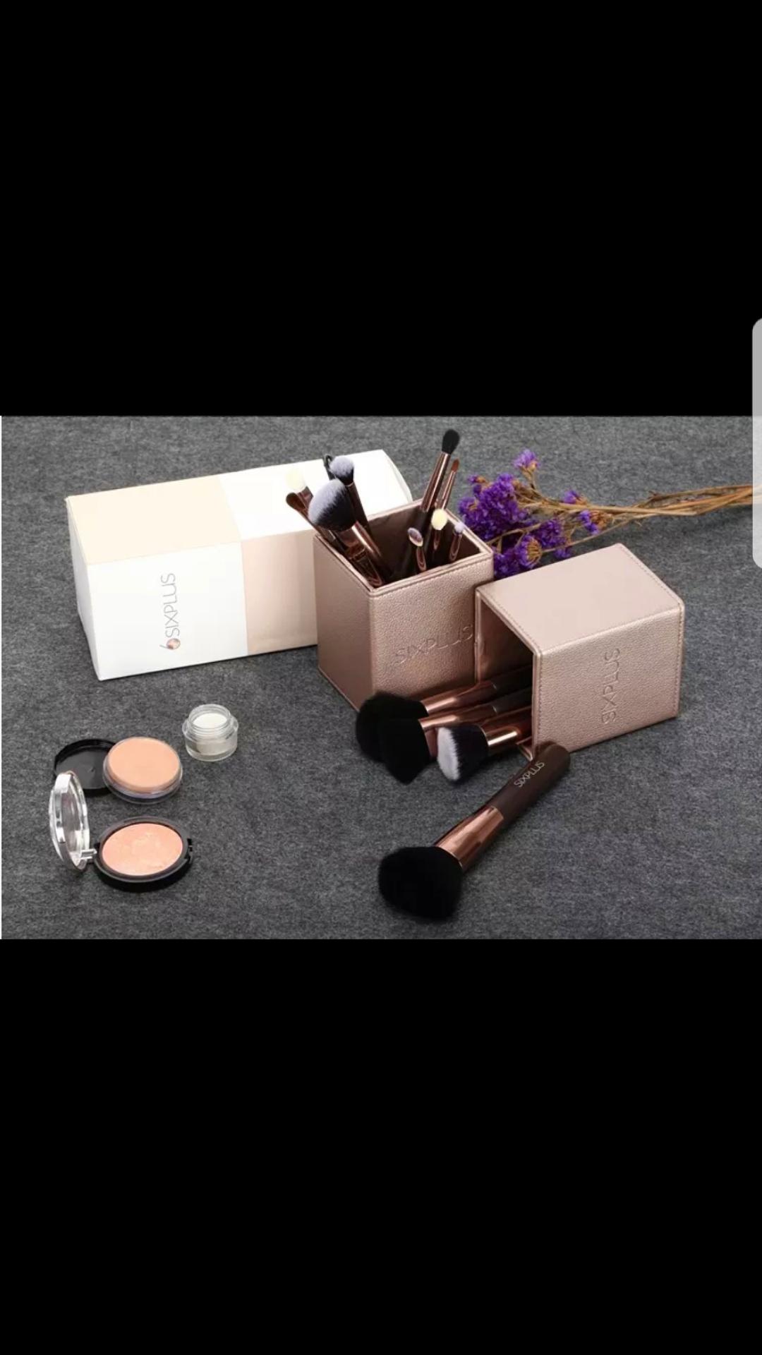 معلومات عن الاإعلان Sixplus makeup brushes 15pcs Coffee