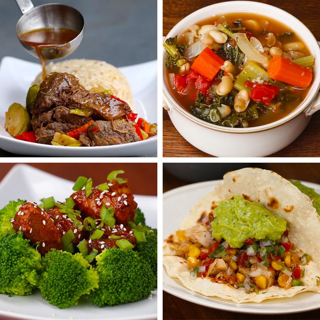6 easy healthy slow cooker dinners meal ideas dinner