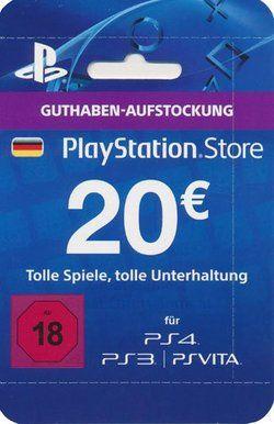 Psn Live Card 20 Euro Nur Fur Deutschland 071171 Grosshandler