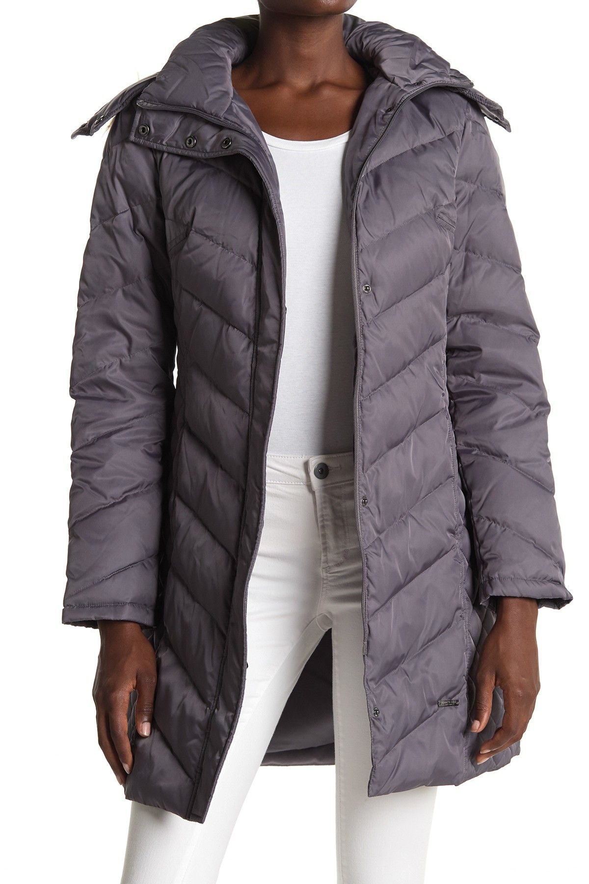 Kenneth Cole New York Faux Fur Trimmed Removable Hood Quilted Down Puffer Jacket Nordstrom Rack Kenneth Cole New York Winter Puffer Coat Puffer Jackets [ 1800 x 1200 Pixel ]
