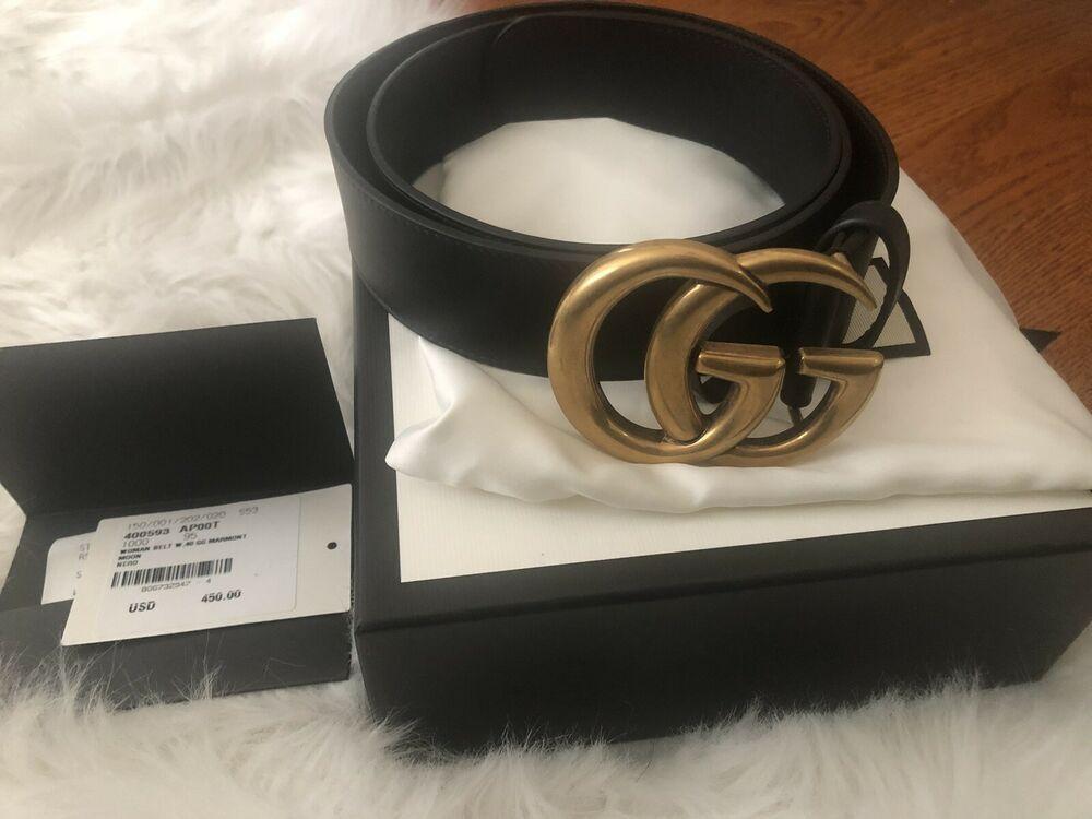 M//L TOPSHOP Women/'s Black Double Eyelet Belt size S//M