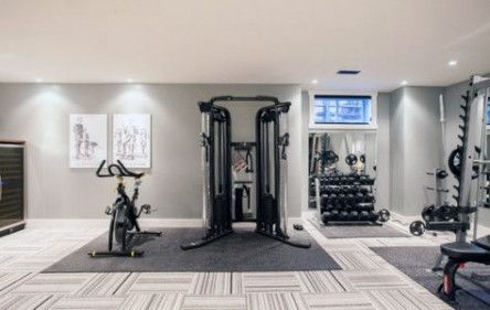 Fitness Room Design Gym Contemporary Homes 54  Ideas #fitness
