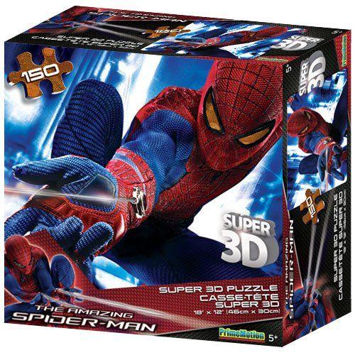 Spiderman Super 3D Jigsaw Puzzle 150 Piece