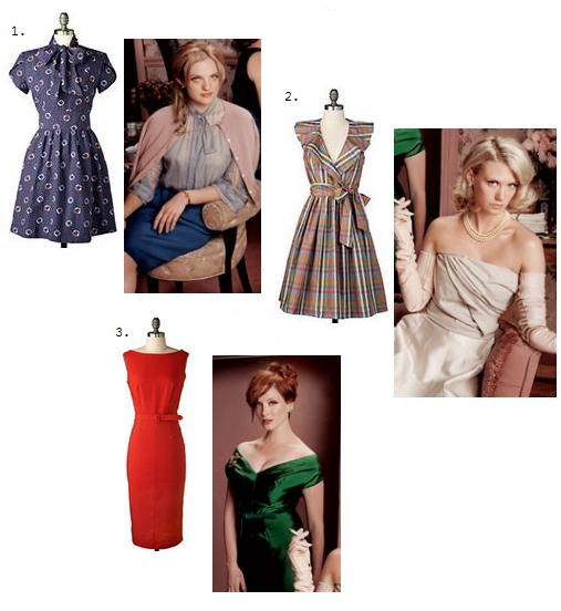 Mad men cocktail party dress