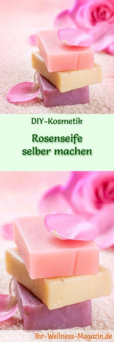 rosenseife selber machen seifen rezept anleitung diy geschenkideen. Black Bedroom Furniture Sets. Home Design Ideas