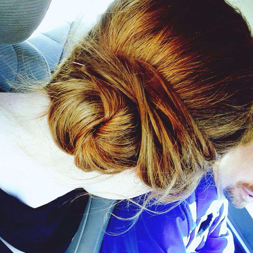 Easy updo (pic only)