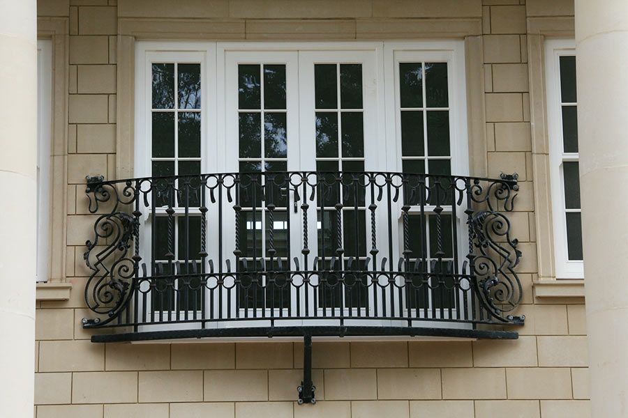 Our Decrotive Juliet Balcony Wroughtiron Iron Balcony
