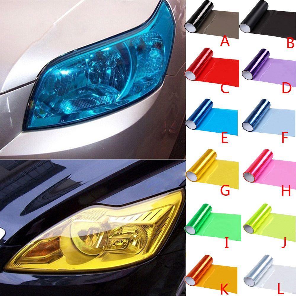 Buy Now 4 Xmas N Ny Car Styling 13 Colors 30x100cm Car Light Headlight Taillight Protect Film Sticker On Lamp Stickers Brake Ligh Car Lights Car Stickers Car [ 900 x 900 Pixel ]