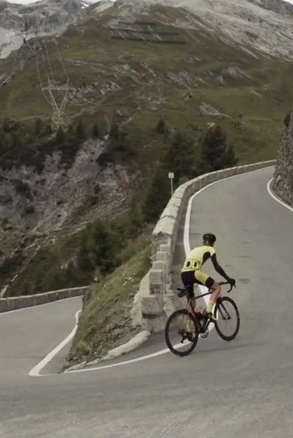 The Col Collective Presents Passo Dello Stelvio Bike Ride Road Bike Cycling Posters