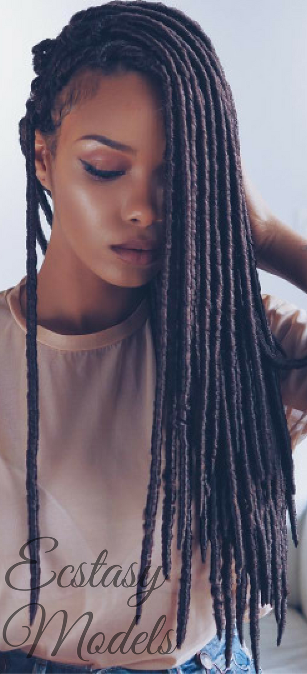 Here\u0027s How You Can Install Super Long Goddess Faux Locs On