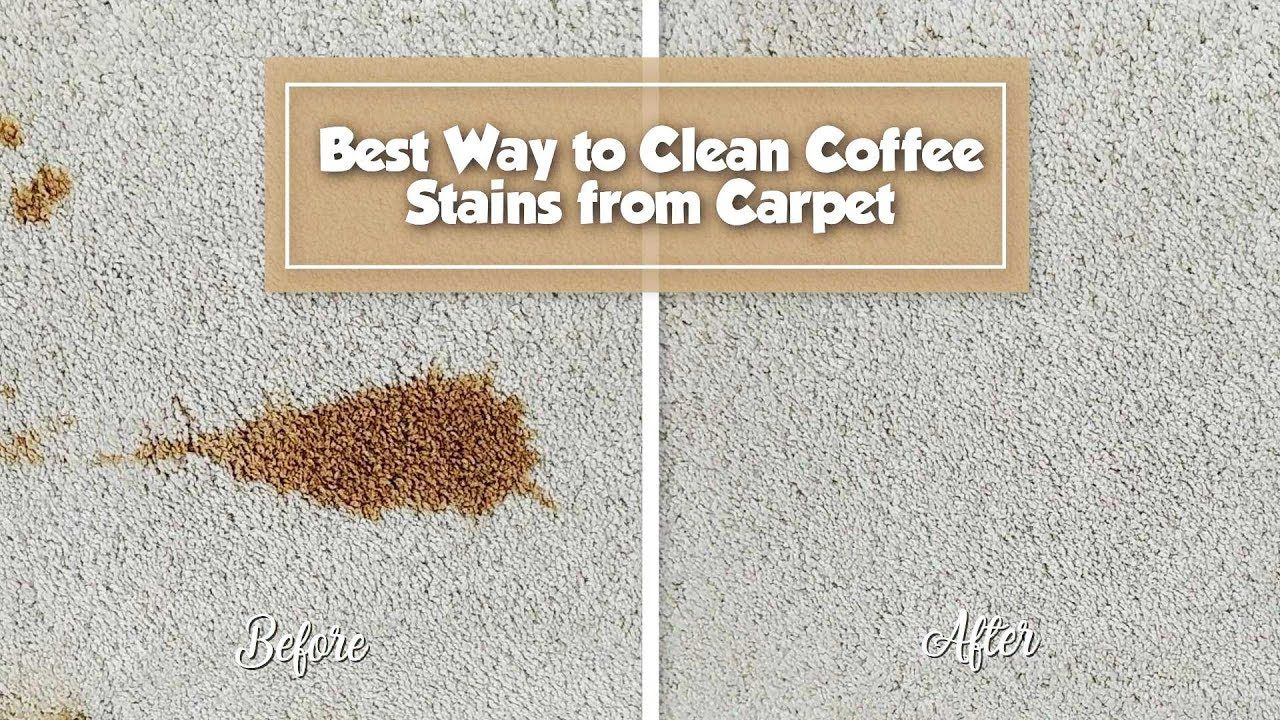 Best Way To Remove Coffee Stain From Carpet Stain Fu Coffee Stain Removal Stain Remover Carpet Carpet Stains
