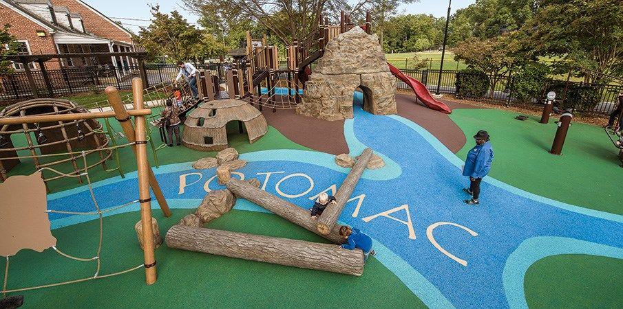 Palisades Recreation Center Native AmericanThemed