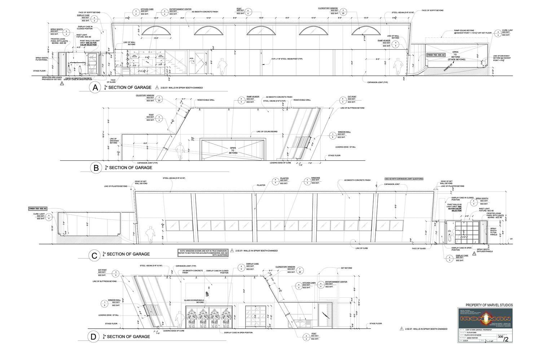 Inspiring tony stark mansion blueprints ideas plan 3d for Plan d iron man