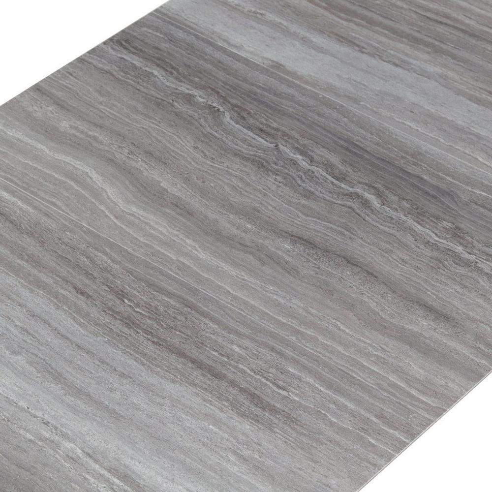Travertine fog groutable vinyl tile travertine plank and vinyl casa moderna travertine fog vinyl plank tile 12in x 24in 100195361 dailygadgetfo Image collections