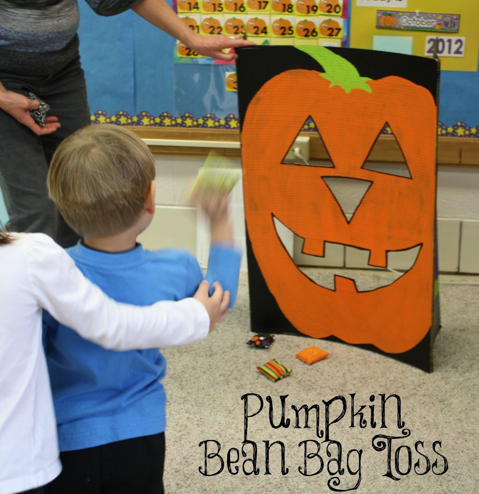 For What It's Worth...or Not.: DIY Pumpkin Bean Bag Toss ...