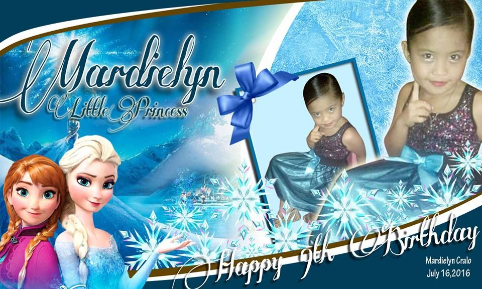 Birthday Ideas Frozen Elsa Ana Frozen Birthday Tarpaulin Design