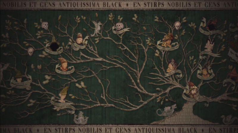 family tree: sirius black