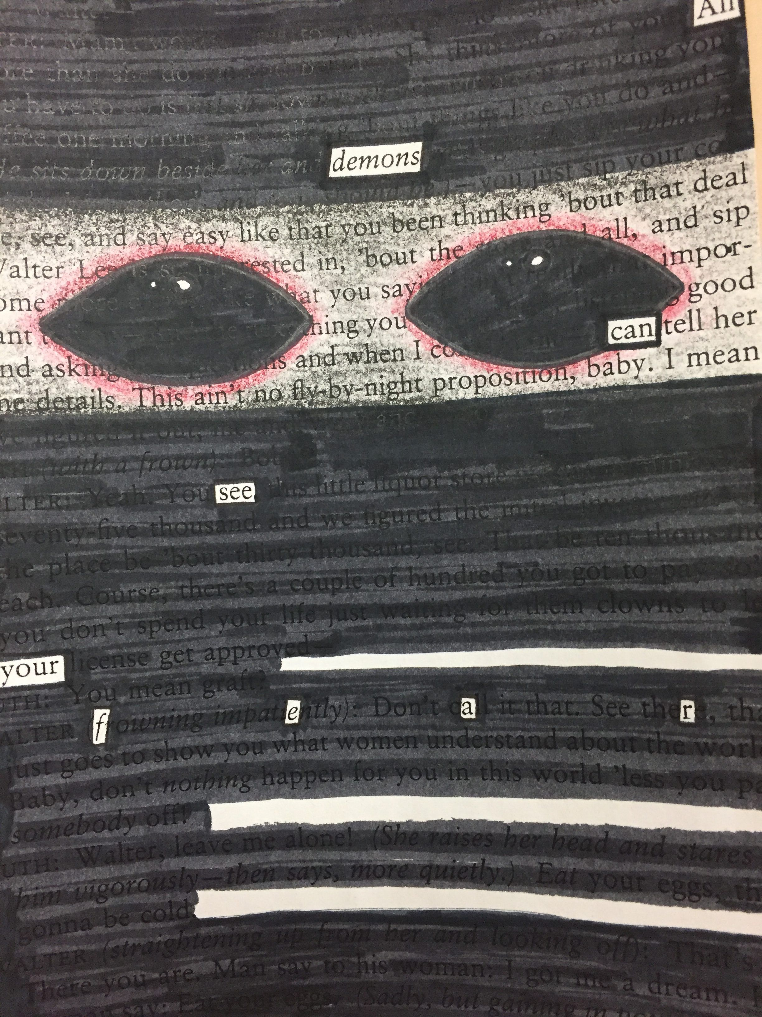 Using Blackout Poetry to Discover Thematic Subjects ...