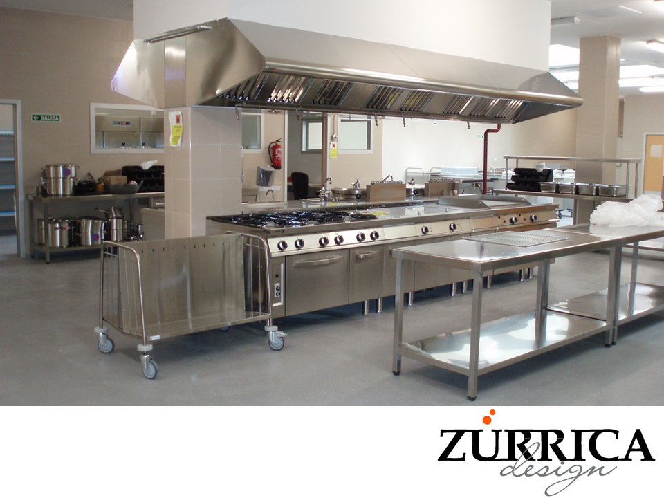 Las mejores cocinas industriales en zurrica design nos for Las mejores cocinas