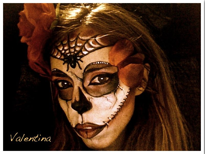 Face Painting..Make up Halloween...