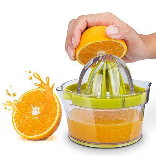 Edelstahl Zitruspresse Limettenpresse Zitronenpresse Juicer Entsafter Saftpresse