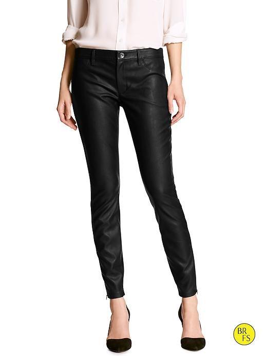 ad9db14c95b56b Factory Sloan-Fit Faux-Leather Legging Pant | Banana Republic ...