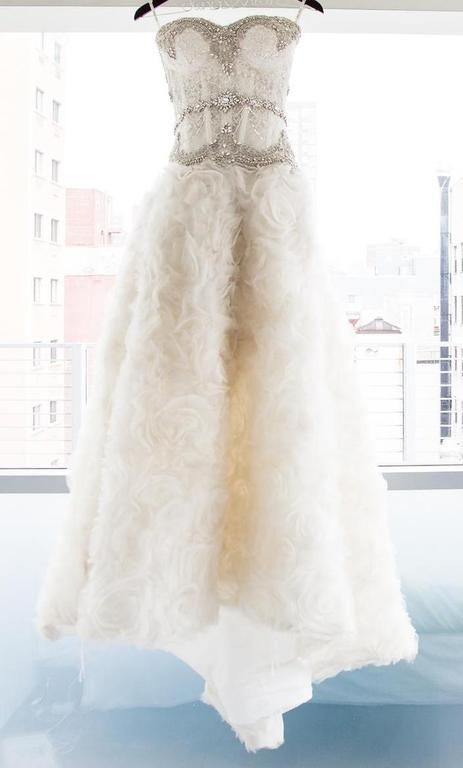 Pnina Tornai fully CUSTOM: buy this dress for a fraction of the salon price on PreOwnedWeddingDresses.com #wedding