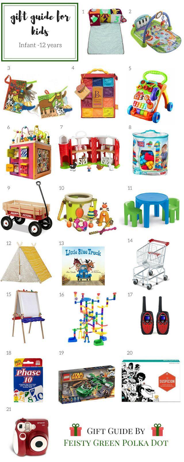 Gift Guide for Kids | Christmas Ideas | Pinterest | Kid check ...