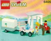 LEGO® Instructions 6405 Sunset Stables