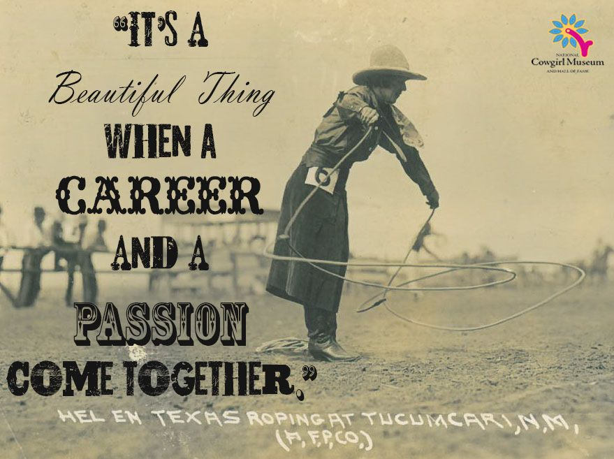 Foyer Museum Quotes : Courtesy of the national cowgirl museum and hall fame