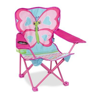 Melissa Amp Doug 174 Cutie Pie Butterfly Camp Chair In Multi