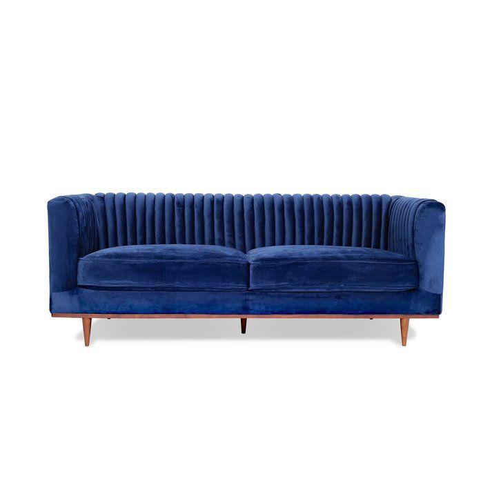 Donahoe Sofa Blue Velvet Sofa Velvet Sofa Sofa