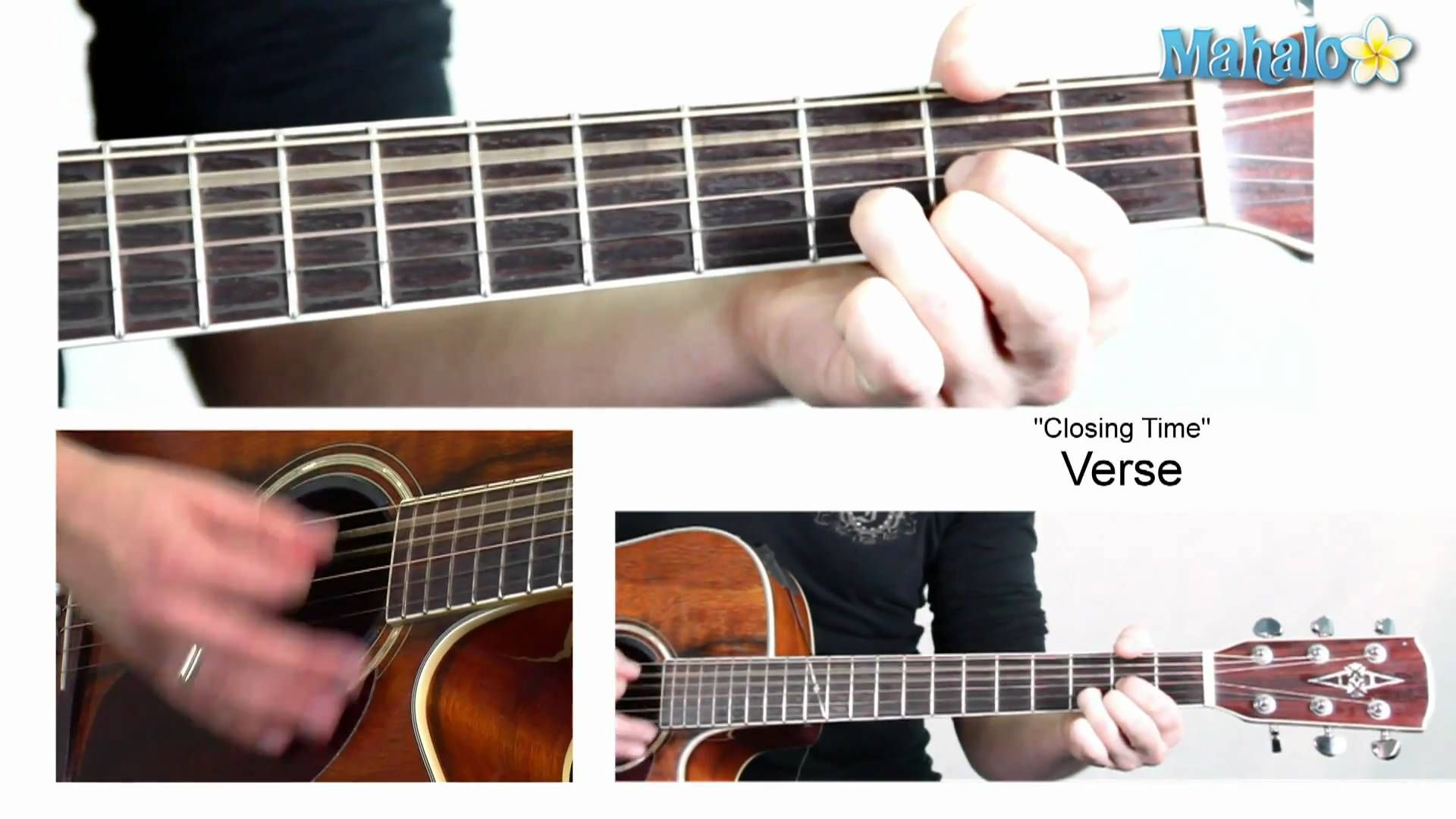 How To Play Closing Time By Semisonic On Guitar Play Me