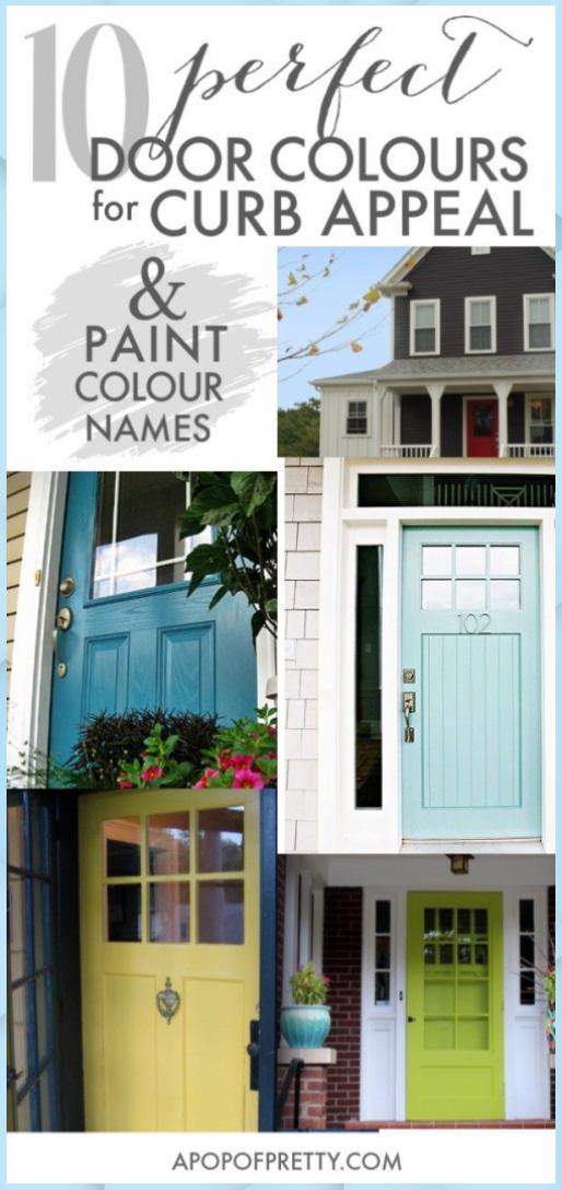 10 Pretty Blue Front Door Colour Ideas (Paint | Feng Shui Tips