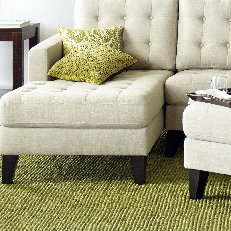 pier 1 living room rugs%0A Popcorn Jute Rug  Green