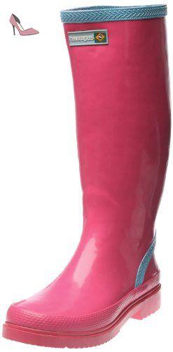 Havaianas Bottes de Pluie Femme Helios Rain Boots Noir-EU :37-BR:35 S7gvC