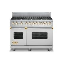 Viking Range With Brass Accents  Someday In My Dream Kitchen Amazing Range Kitchen Review